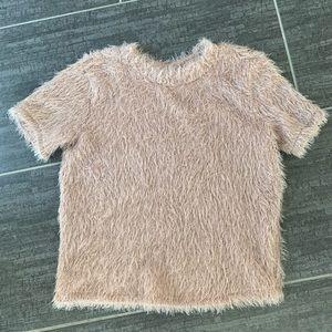 NWOT Zara Fluffy Tshirt